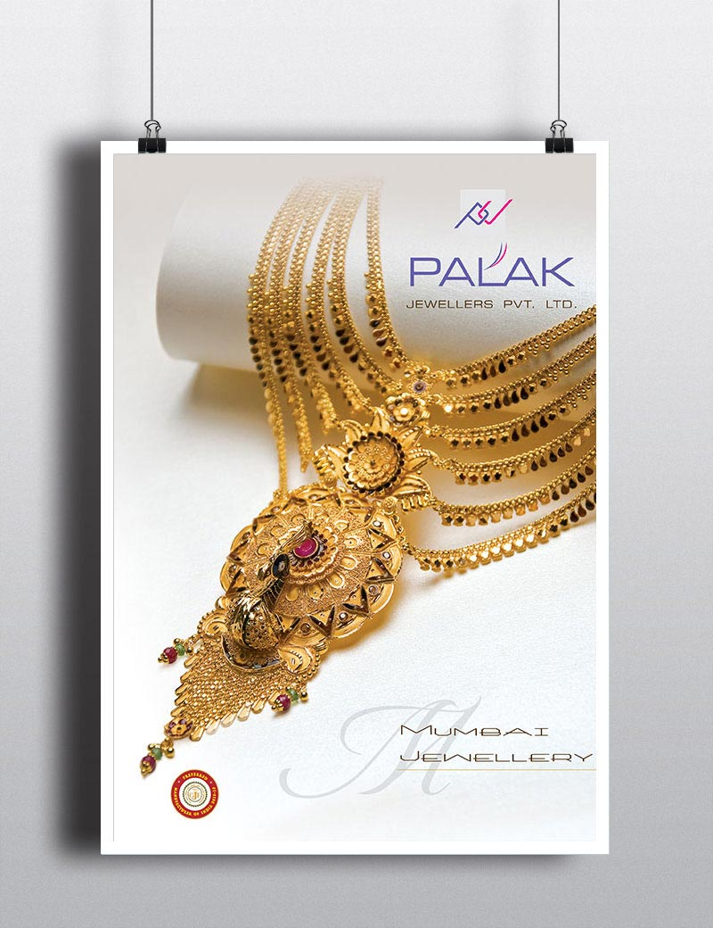 Palak jewellery  in Poster development
