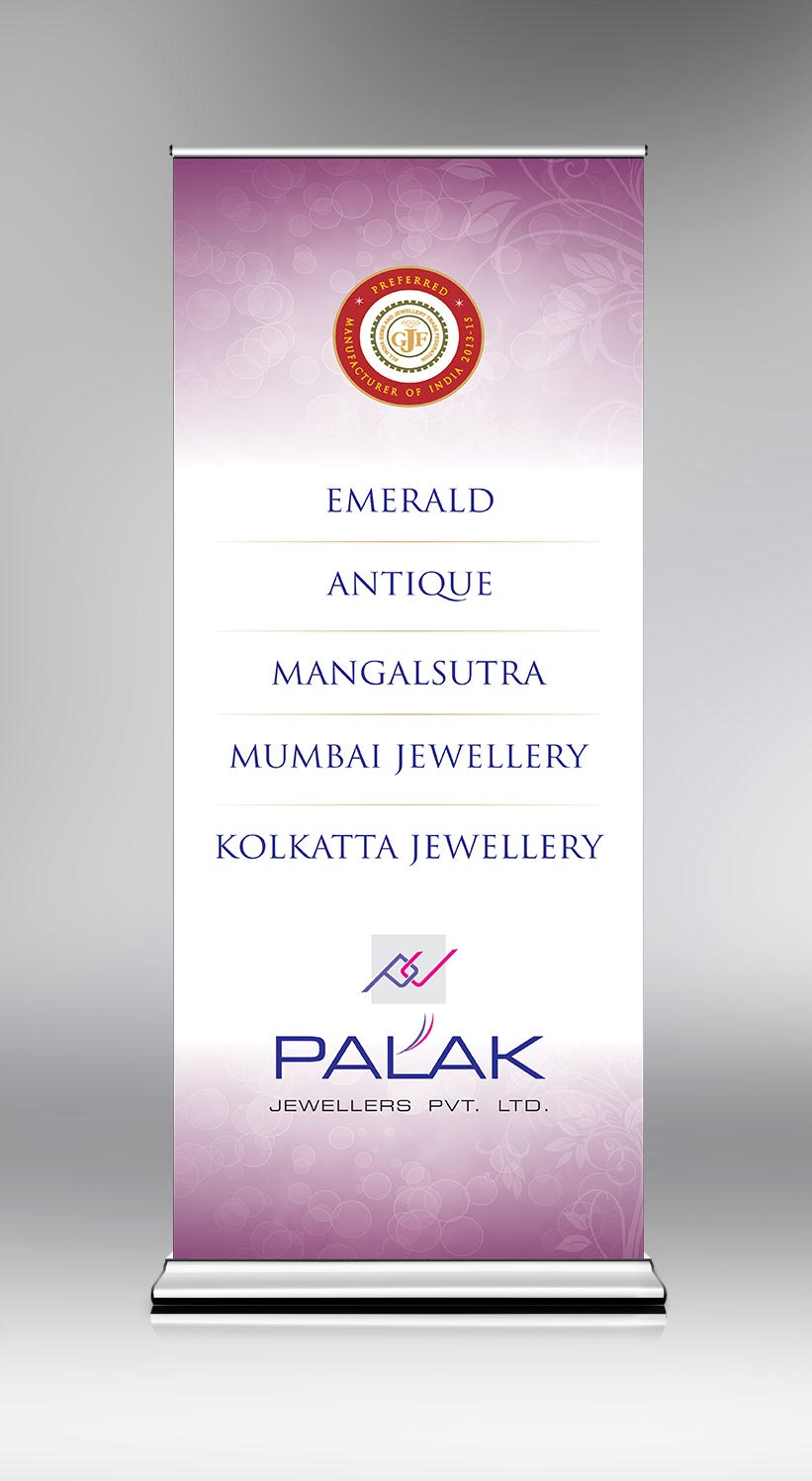Standy for Palak jewellery