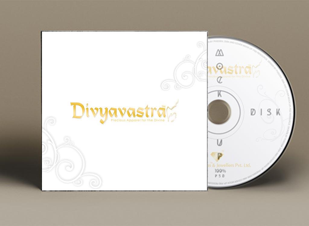 CD Cover Design for Divyavastra