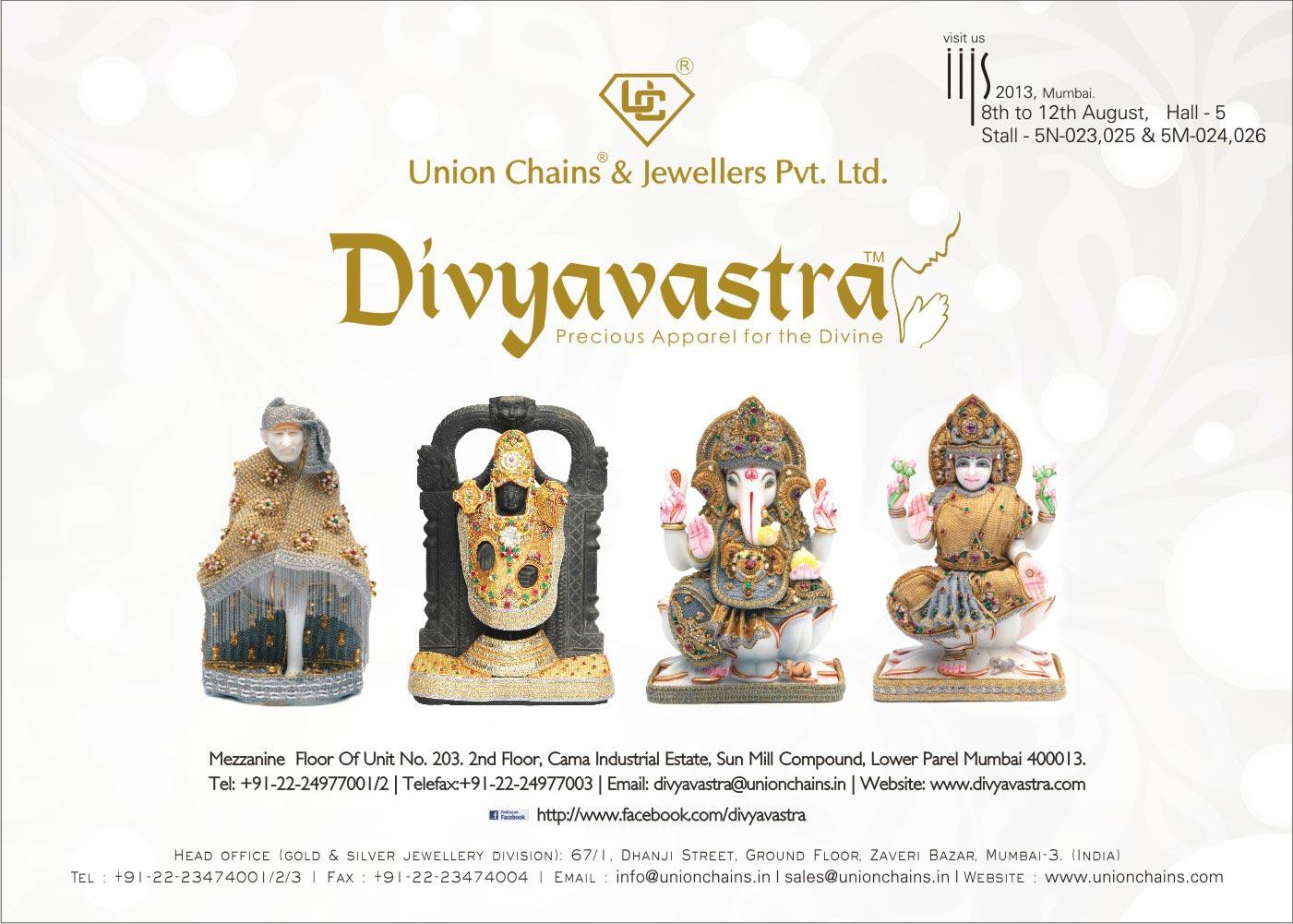 Unique Chains & Jewellers Ad campaign