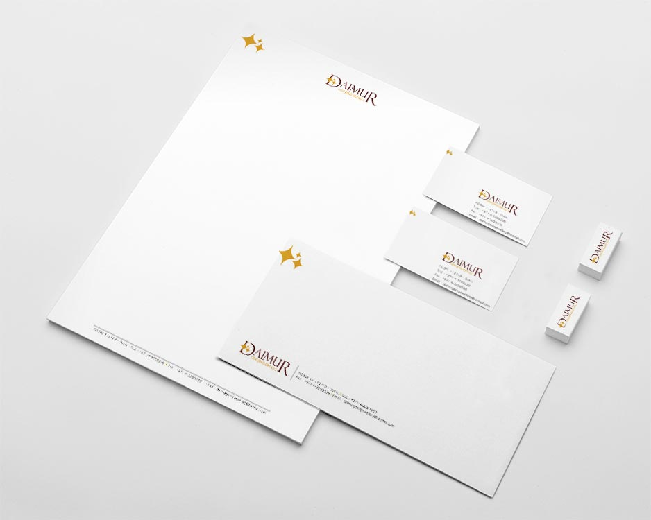 Visiting Cards designing for Daimur