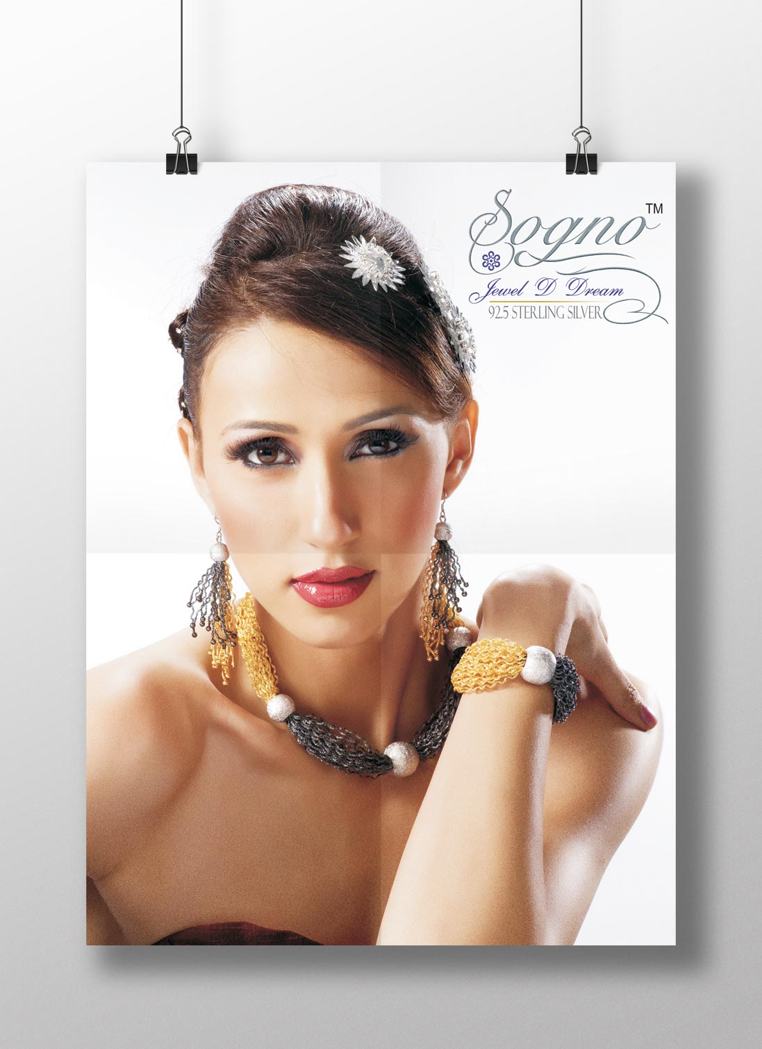 Posters for Sogno jewels