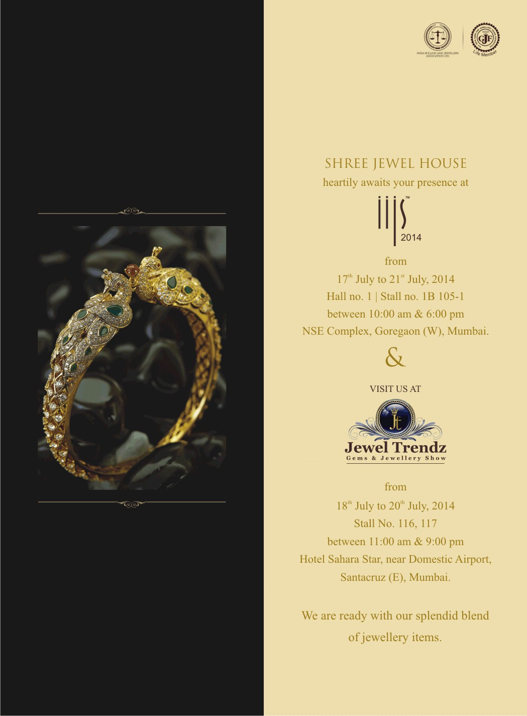 Shree Jewel House Invitation Cards