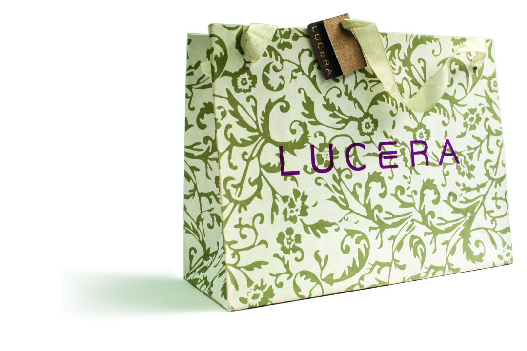 Packaging design for Lucera Bag