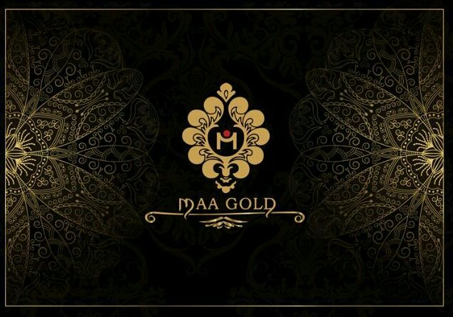 Maa Gold Invitation Cards