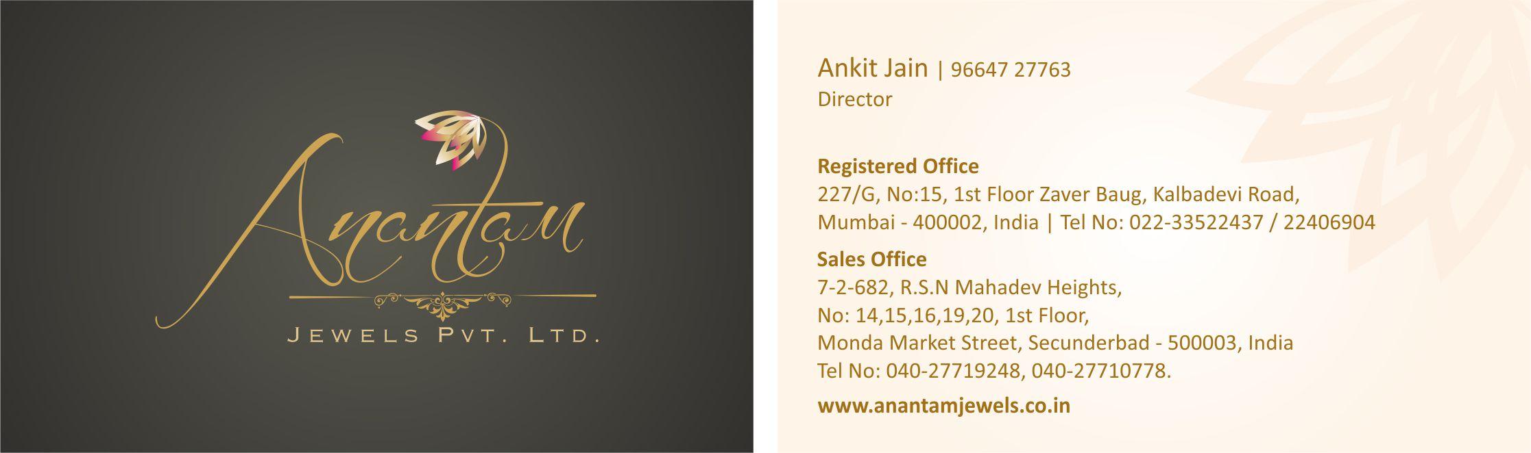 Anantam Logo Design