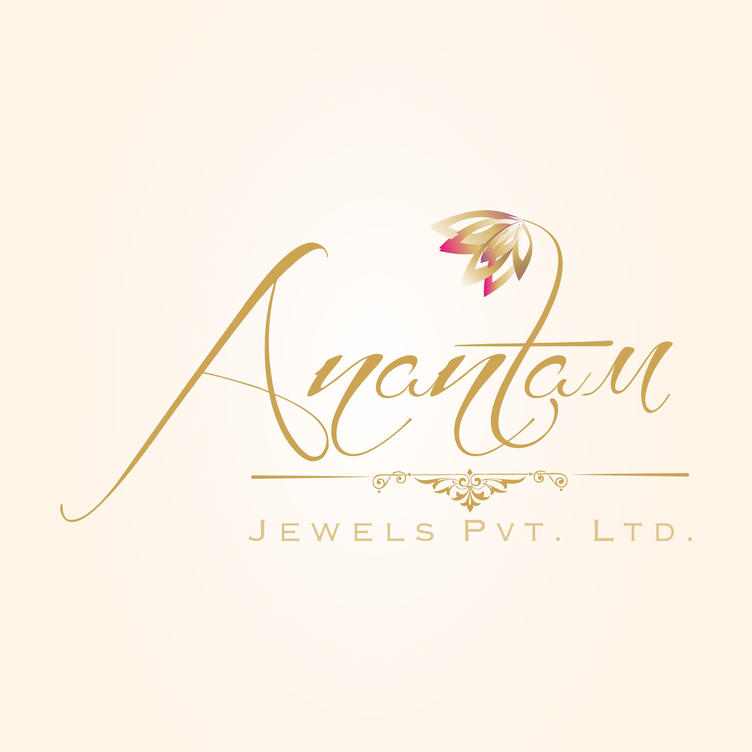 Logo designing for Anantam Jewels