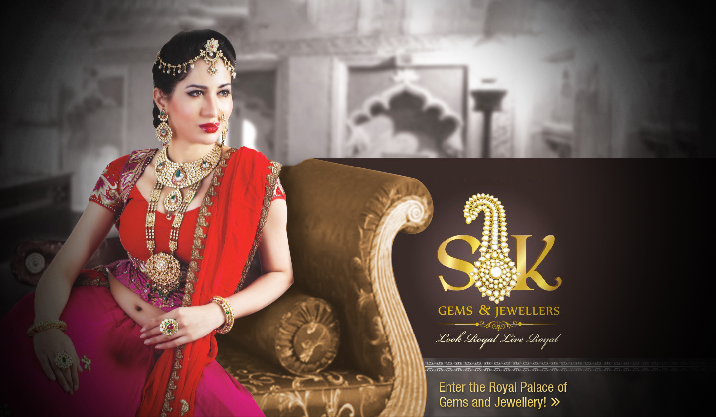 SK Gems & Jewellers Invitation cards