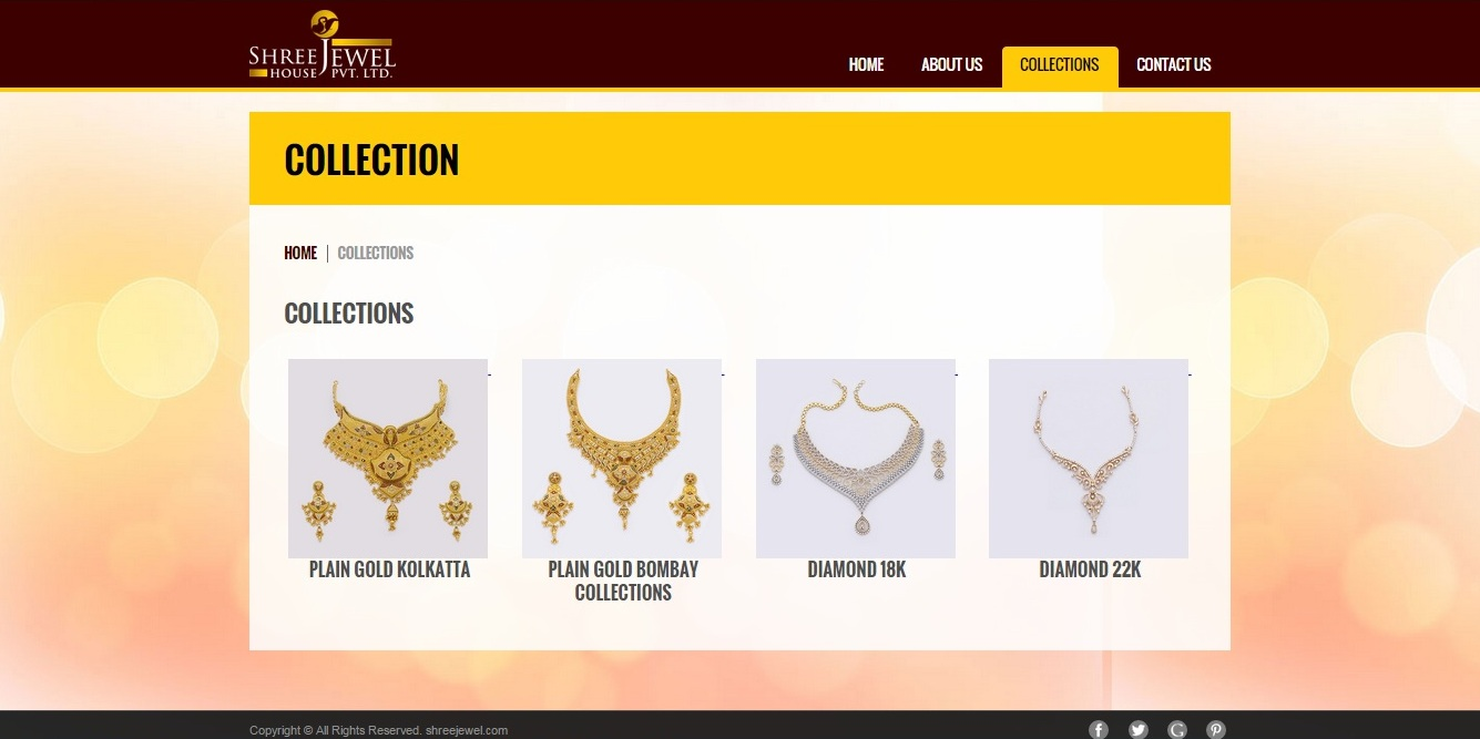Shree Jewel House Jewellery collection