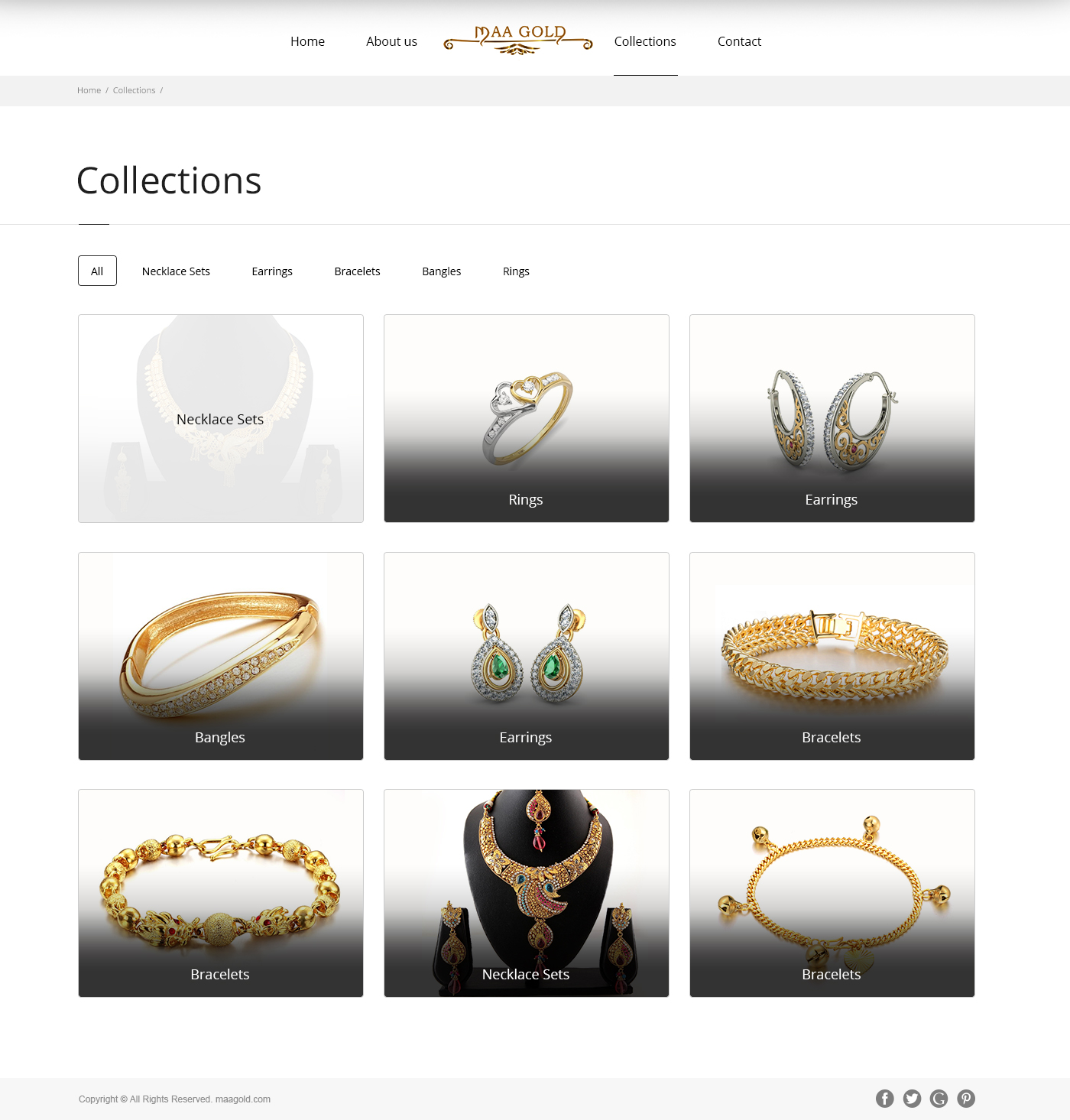 Maa Gold Jewellery Collection