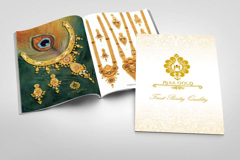 Maa Gold Catalog design