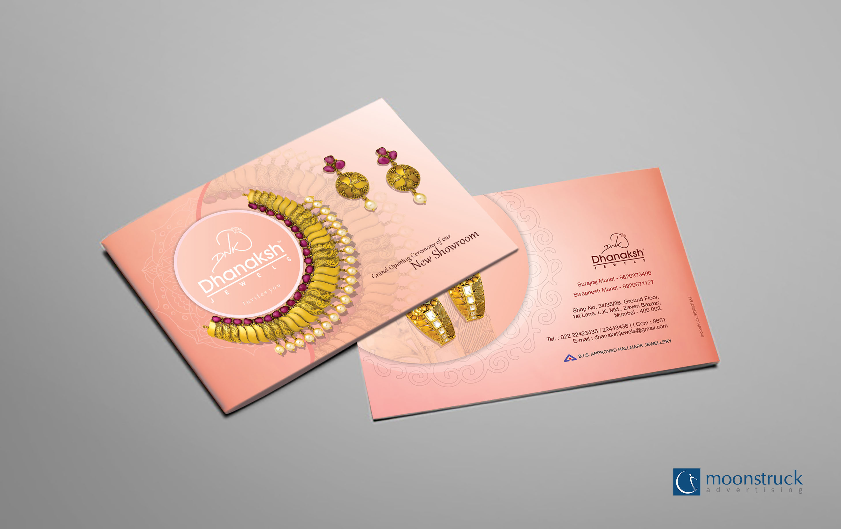 Dhanaksh Invitation Card